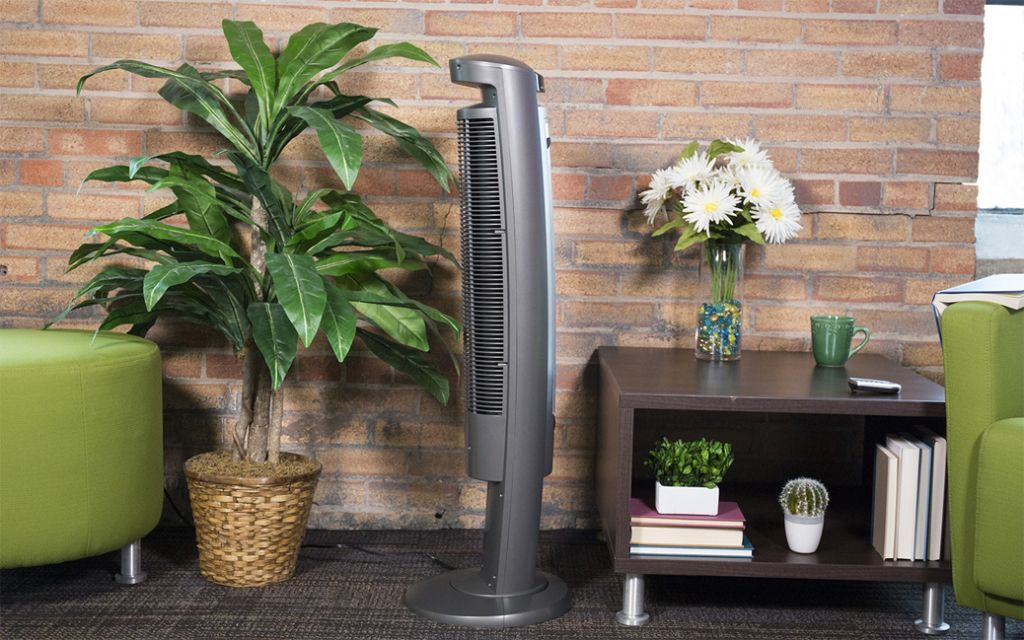 Lasko Wind Curve Oscillating Tower Fan Review - Power, Noise