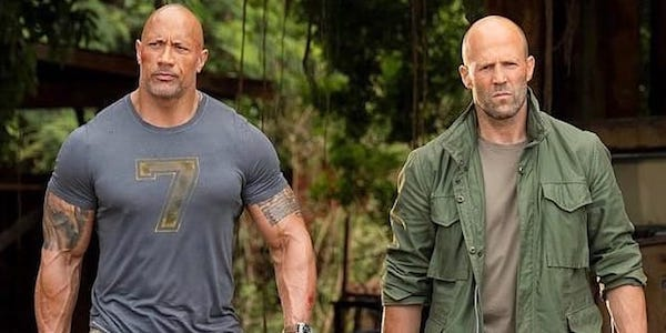 Dwayne Johnson and Jason Statham in Hobbs & Shaw