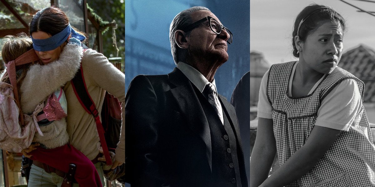 Bird Box, The Irishman and Roma