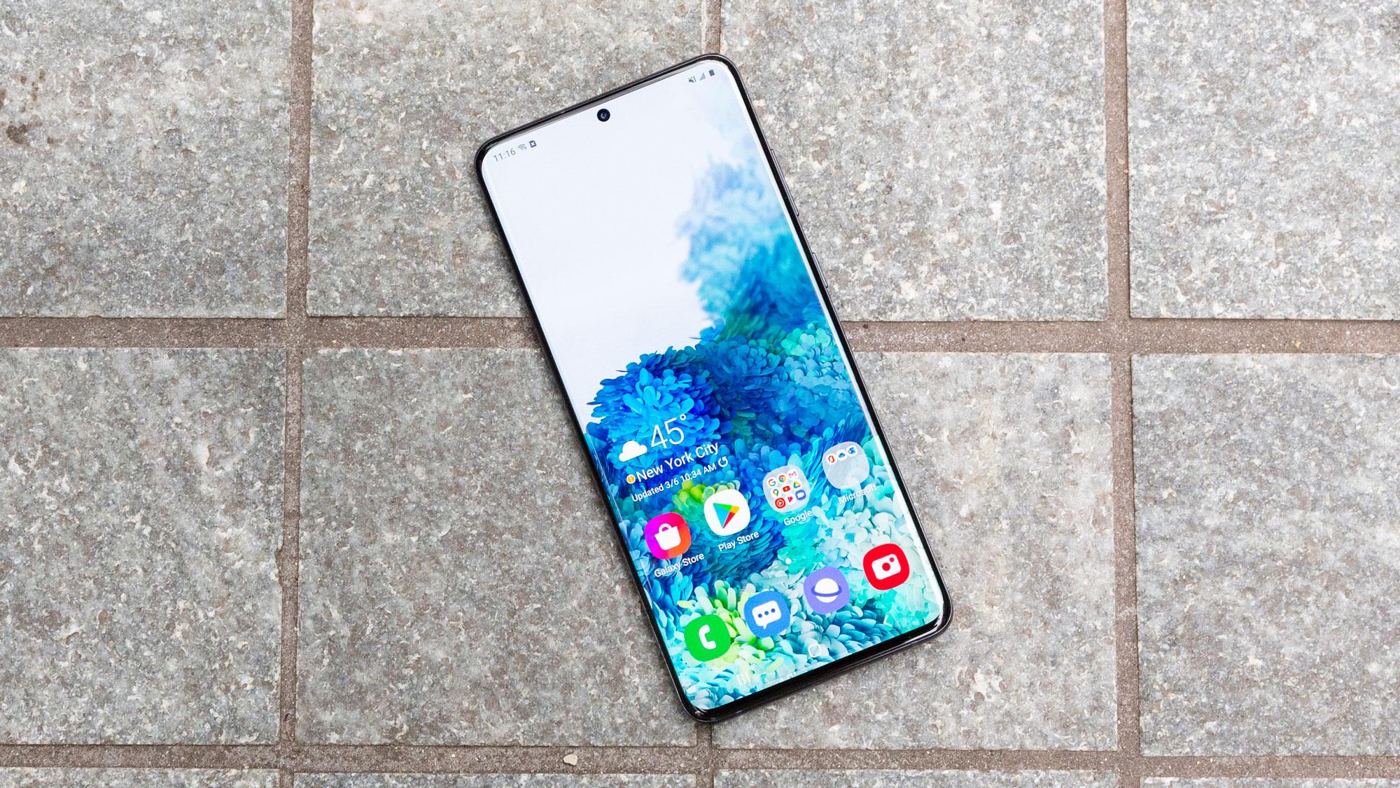 O Samsung Galaxy S20 Plus, equipado com 5G, durou 10 horas e 31 minutos no teste de bateria do Tom's Guide. Isso é duas horas a menos que o Galaxy S10 Plus do LTE, apenas no ano passado. & Nbsp;