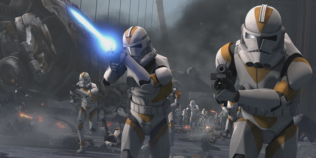 star wars the clone wars clone troopers disney+ siege of mandalore episode 1