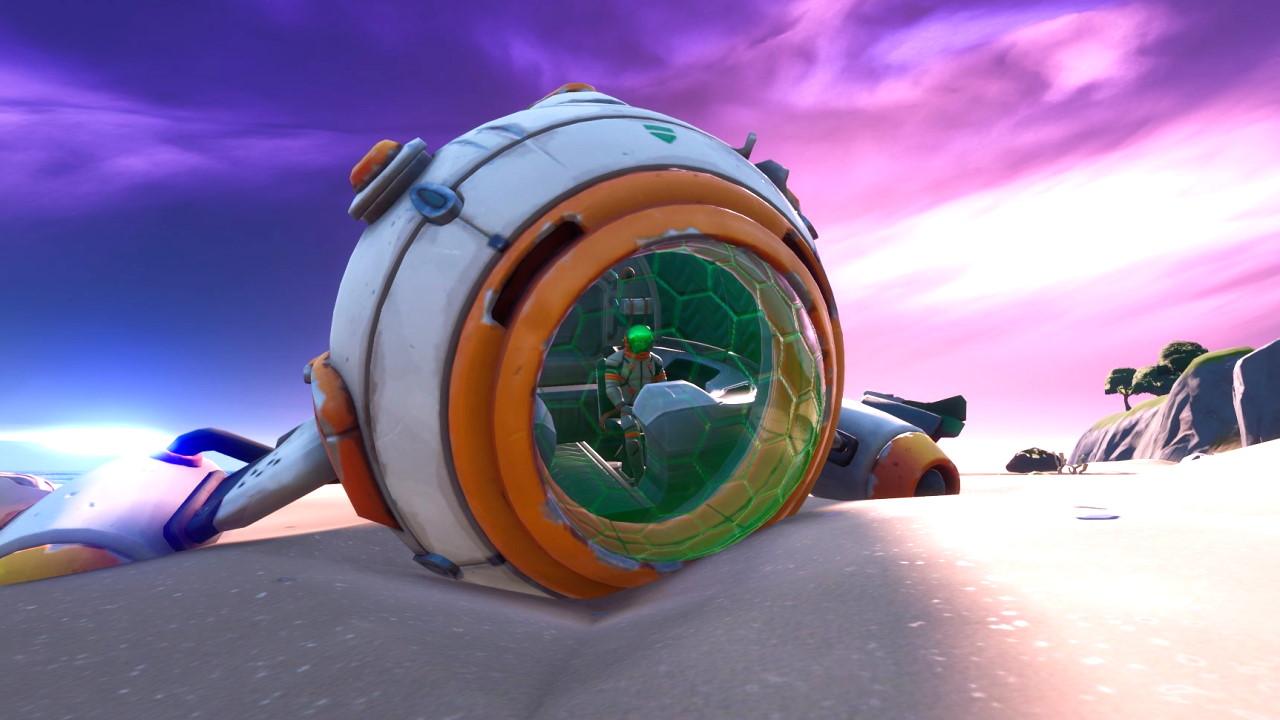 Fortnite Season 9 Crash Fortnite Is Getting A New Crash Site Location And Accompanying Challenges Gamesradar