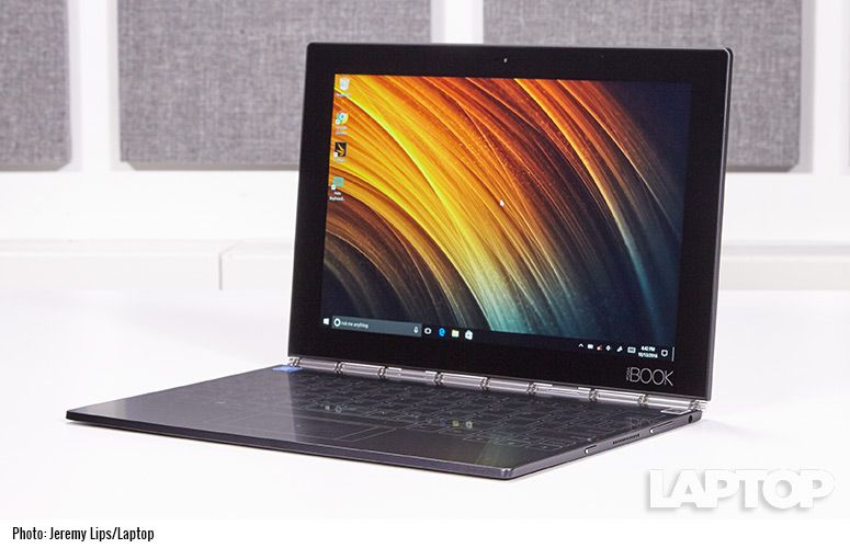 Lenovo Yoga Book Windows Full Review And Benchmarks Laptop Mag