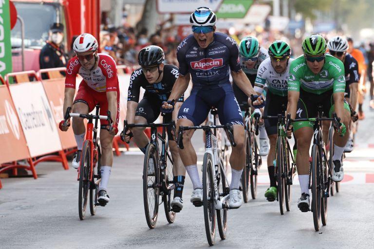 Jasper Philipsen wins stage five of the Vuelta 2021