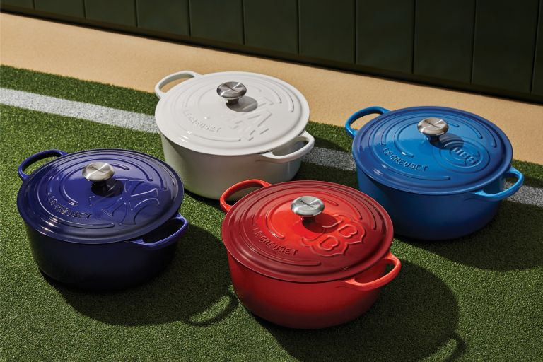 Le Creuset for the MLB signature series collection