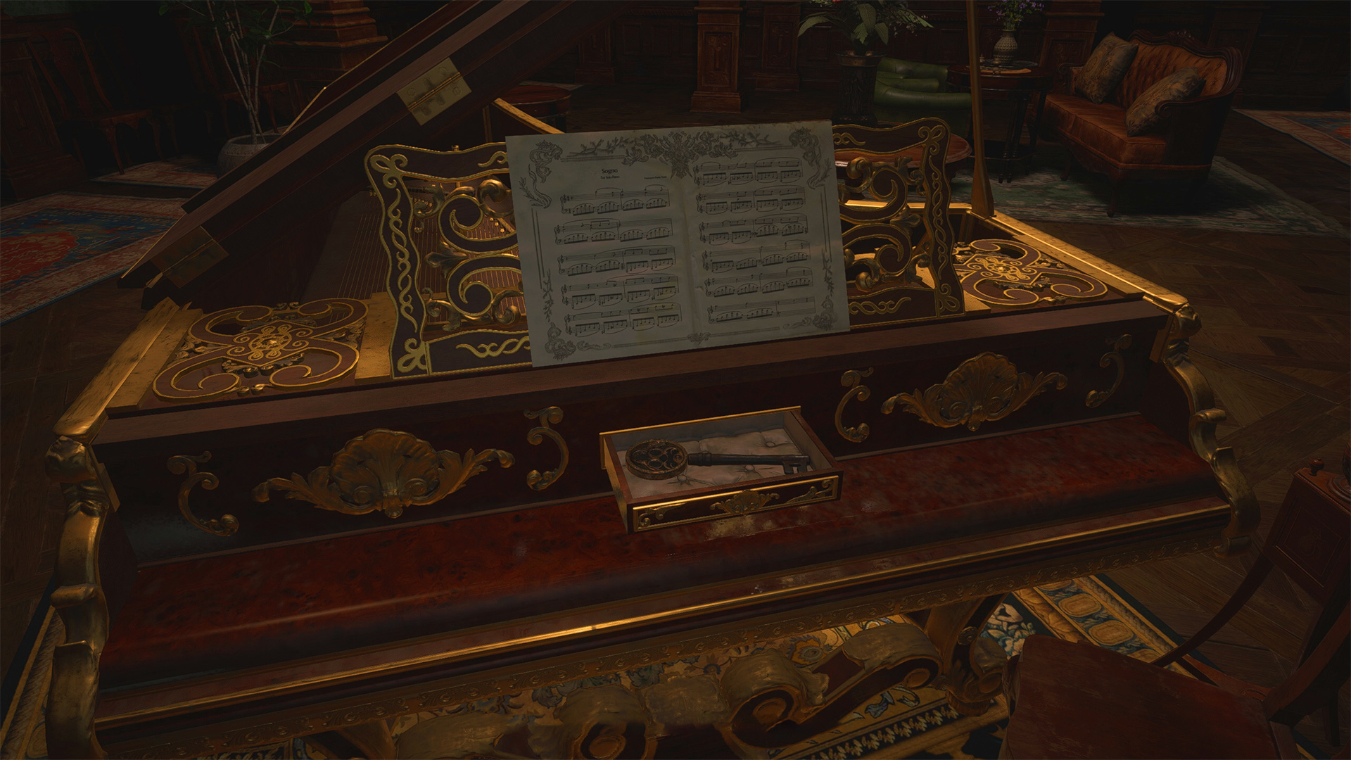 How to solve the Resident Evil Village piano puzzle
