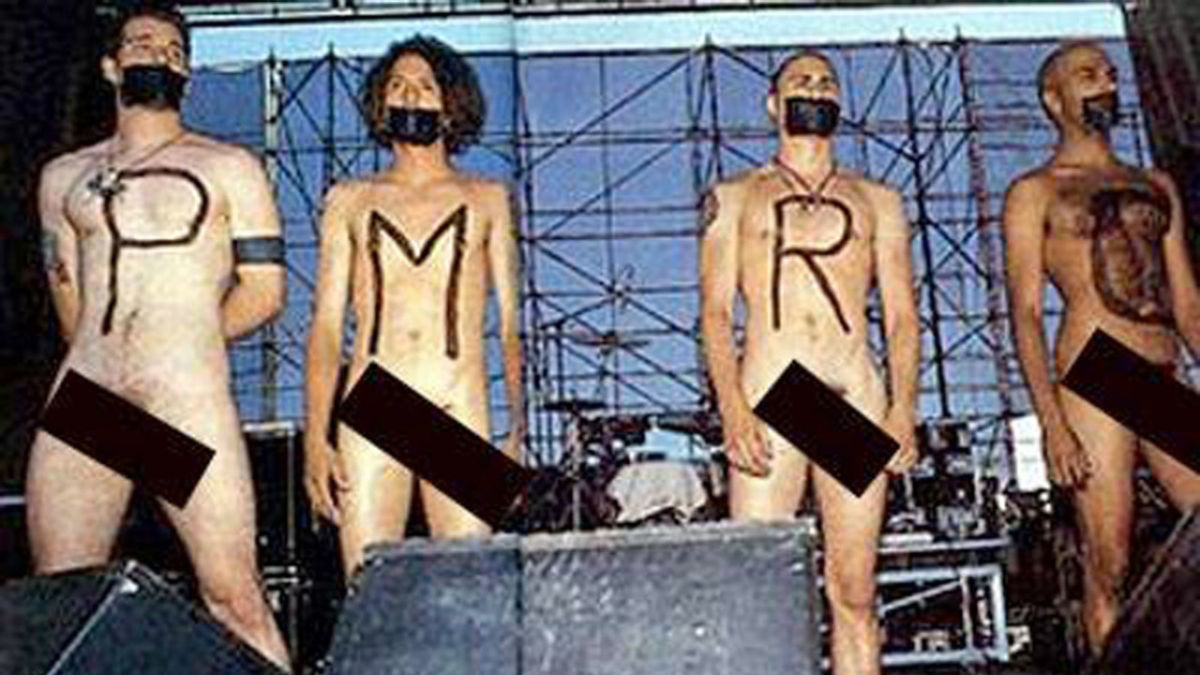 rage against the machine nude