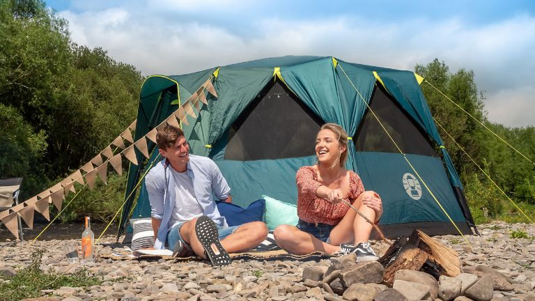 best family tent: Octagon BlackOut