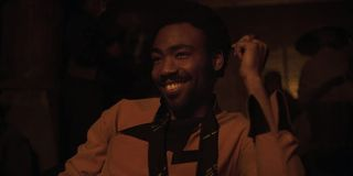 Donald Glover in 2019's Solo: A Star Wars Story