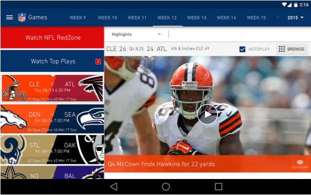 How to Watch NFL Games on Your Phone | Tom's Guide
