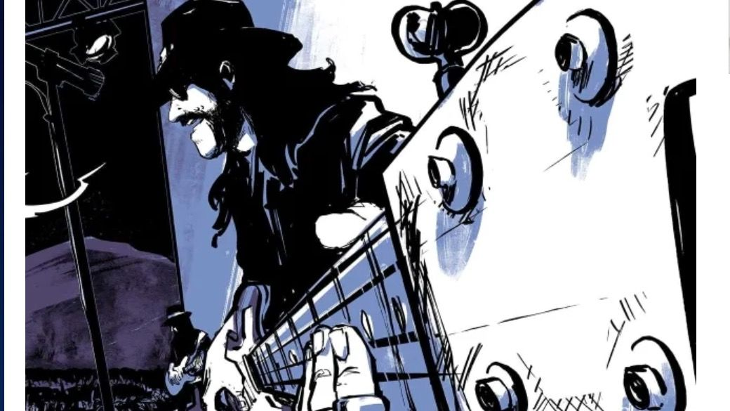 The legend of Lemmy celebrated in Motörhead: The Rise Of The Loudest Band In The World graphic novel