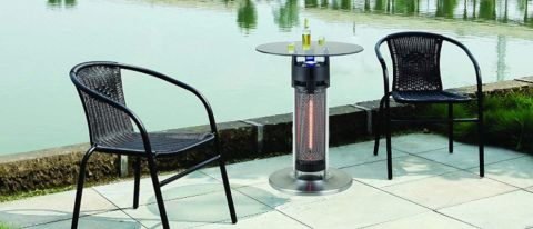 Ener-G+ Infrared Tabletop Electric Patio Heater review