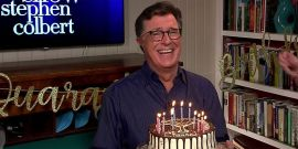 Stephen Colbert Offers Some Honest Thoughts On Celebrating A Birthday In Quarantine