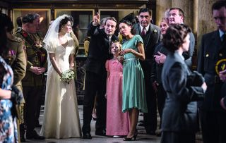 In this weeks drama Close to the Enemy it's time for Dieter and Anna's wedding