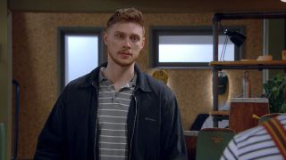 Max Parker plays Luke Posner in Emmerdale