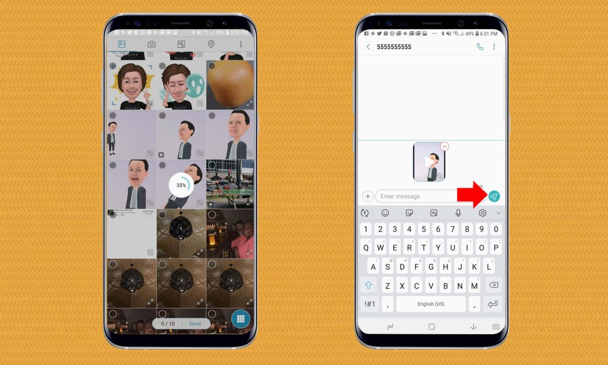 How to Share AR Emoji on the Galaxy S9 - Galaxy S9 User