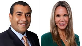 Neeraj Khemlani (left) and Wendy McMahon to lead combined CBS News and Stations divisions