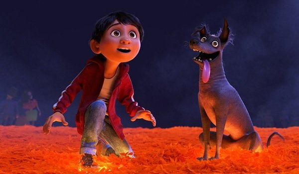 Coco a boy and his dog in the underworld
