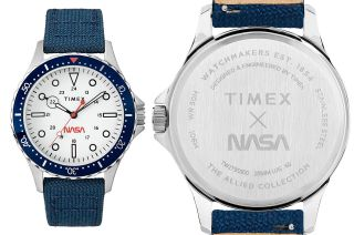 Timex is celebrating the 50th anniversary of the first moon landing with its new Timex x NASA Navi 41mm wristwatch.
