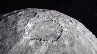 Dawn View of Ceres Surface