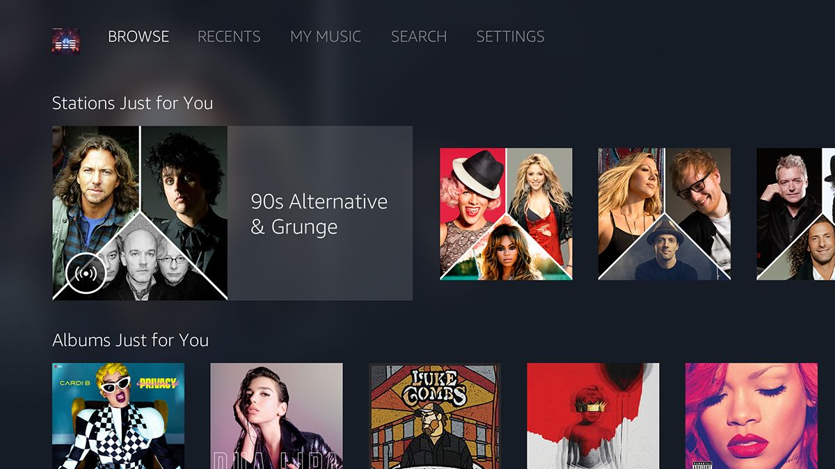 Amazon Music is heading to your Android TV box