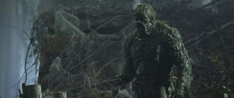 Swamp Thing looms over the swamps of Louisiana.