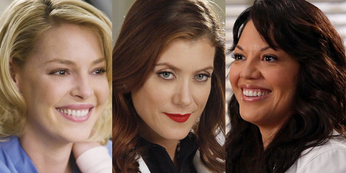 Grey's Anatomy Izzie Addison Callie ABC