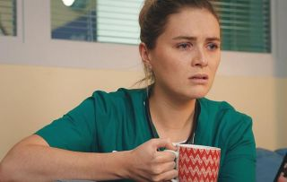 Casualty spoilers: Eddie asks Alicia why she's avoiding him...
