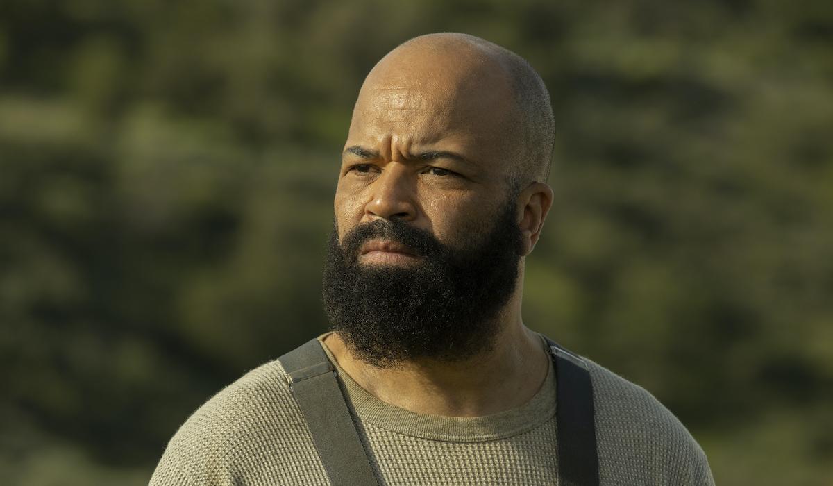 westworld season 3 bernard with a big beard