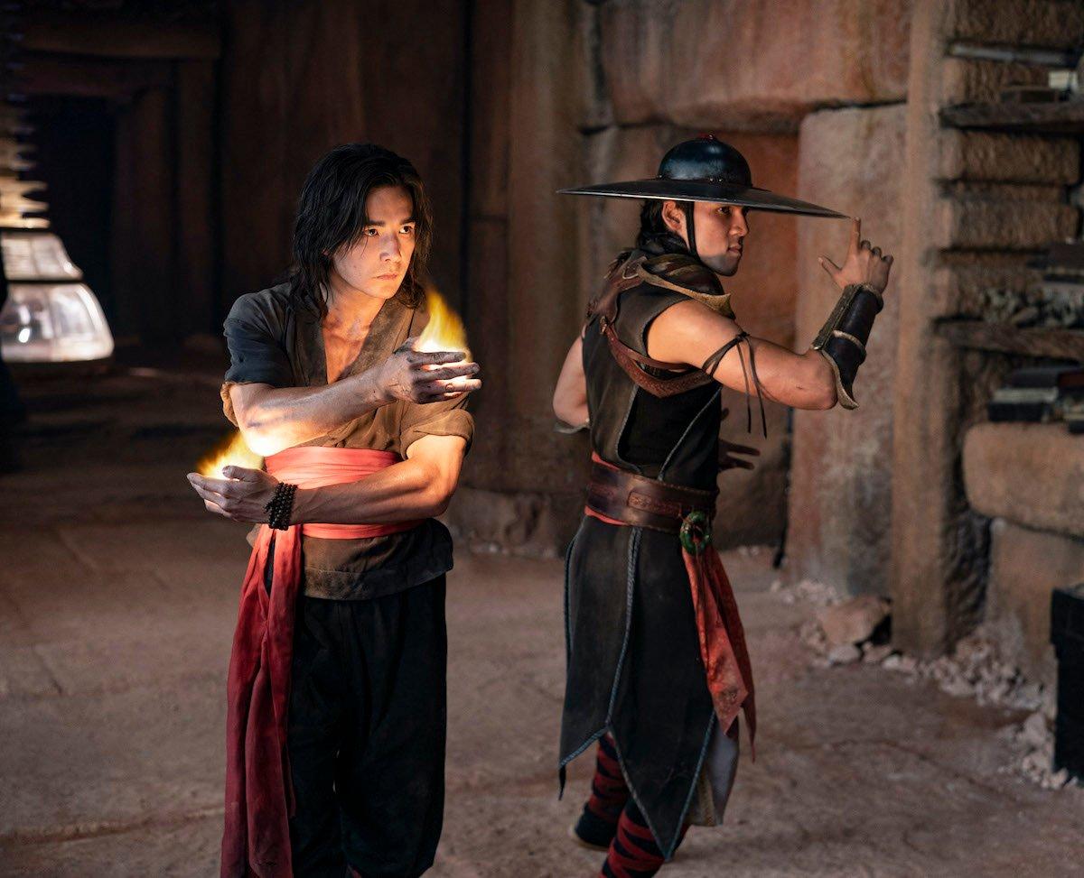 Ludi Lin's Liu Kang and Max Huang's Kung Lao in Mortal Kombat