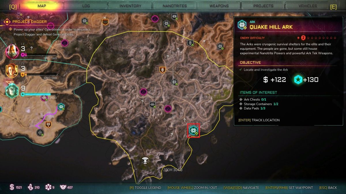 Rage 2 Ark locations: find them all with our map and guide   PC Gamer