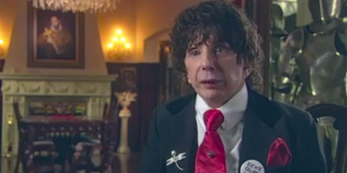 Phil Spector last interview screenshot from YouTube