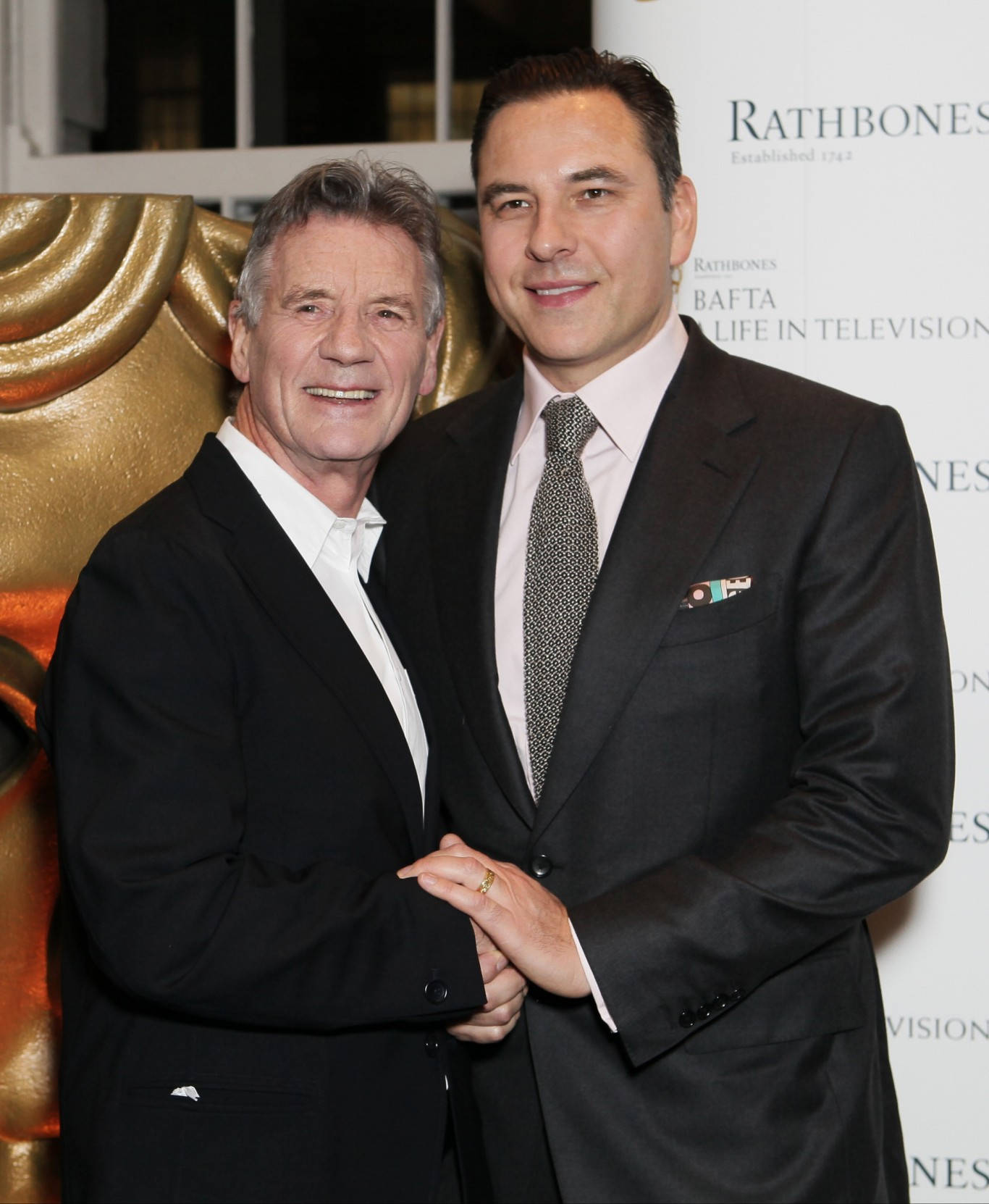 Michael Palin and David Walliams