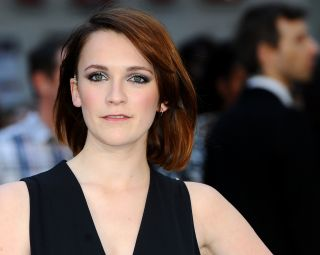 Charlotte Ritchie on the red carpet