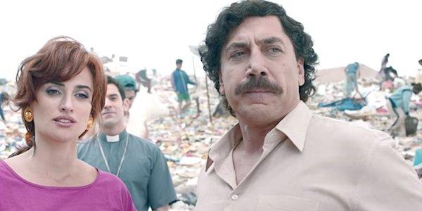 Penelope Cruz Javier Bardem in a dump Virginia Vallejo Loving Pablo