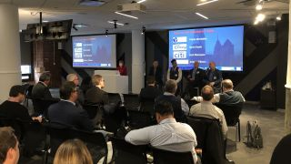On the morning of the final day of IMCCA's Collaboration Week New York, attendees gathered at Google's Chelsea Market offices for presentations on the topic of cloud-based systems.