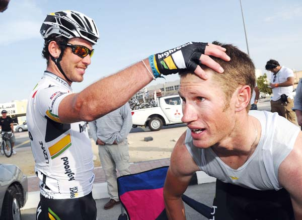 Cavendish and Renshaw, Watson photos of 2011