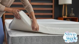 Sleep easy with 40% off the Tempur-Pedic mattress topper for Sleep Awareness Week