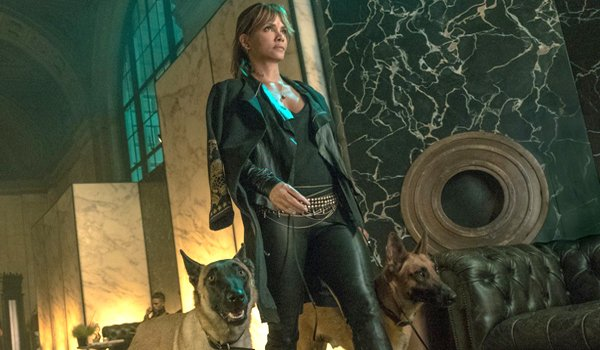 Halle Berry with dogs John Wick 3