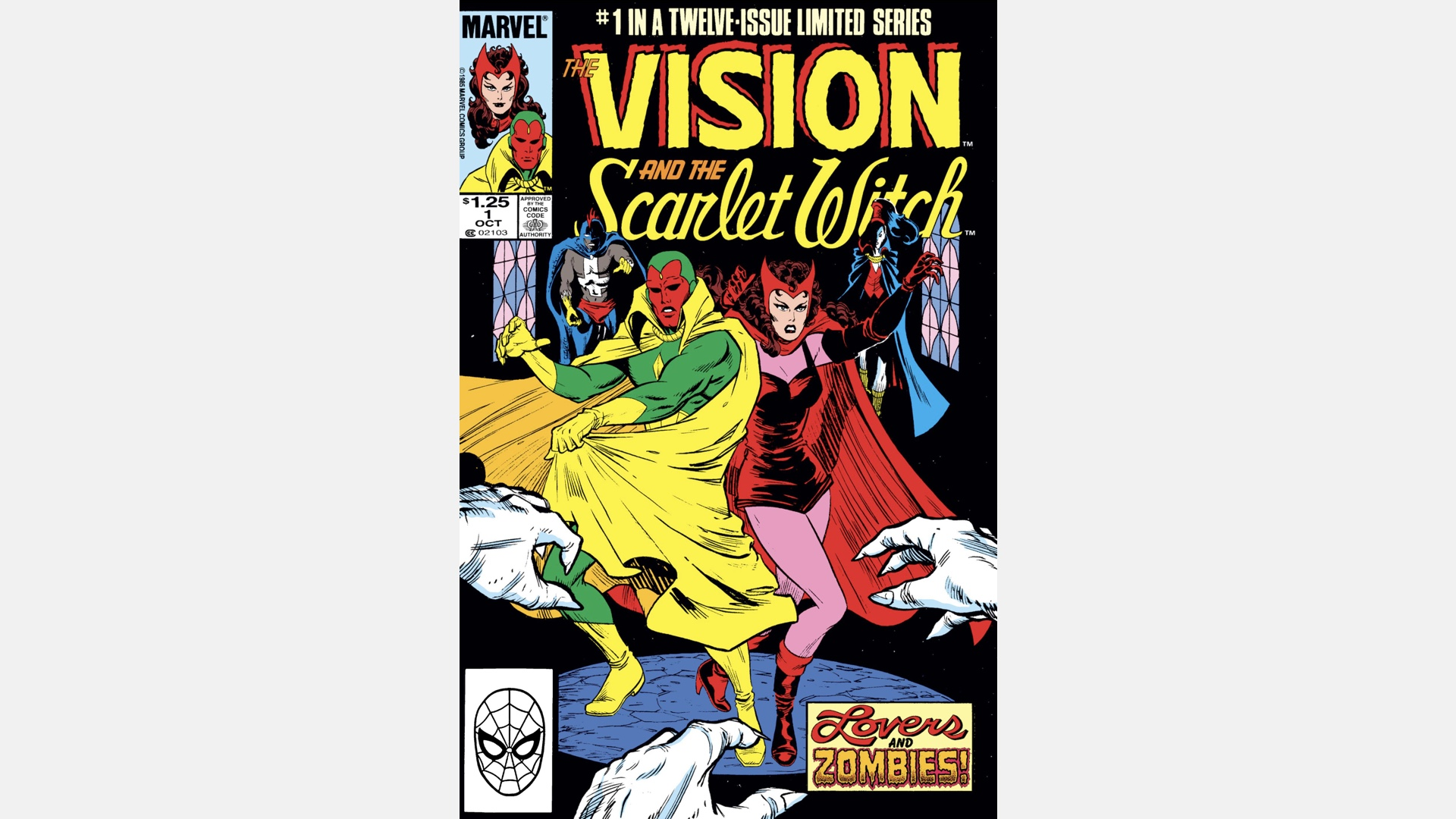 cover of Vision & Scarlet Witch Vol. 2 #1