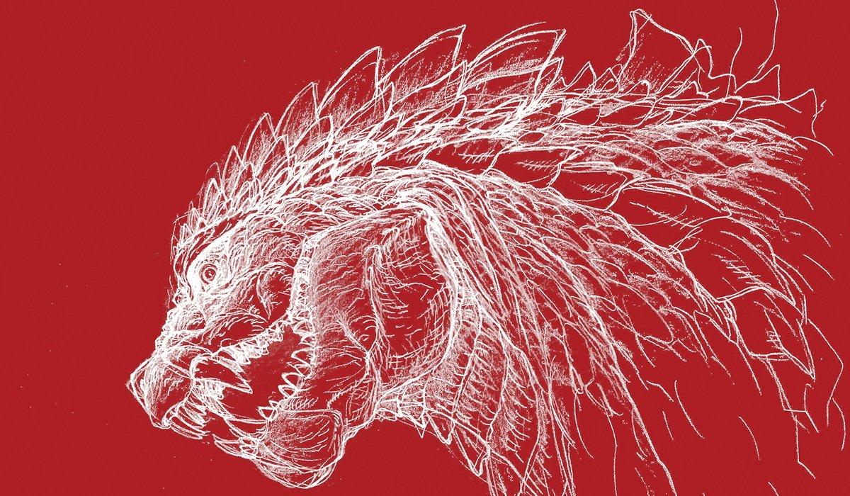 Art depicting Godzilla in Godzilla: Singular Point.