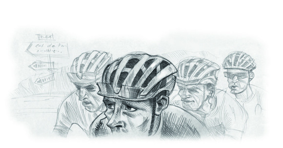 Our man in the bunch: Stress