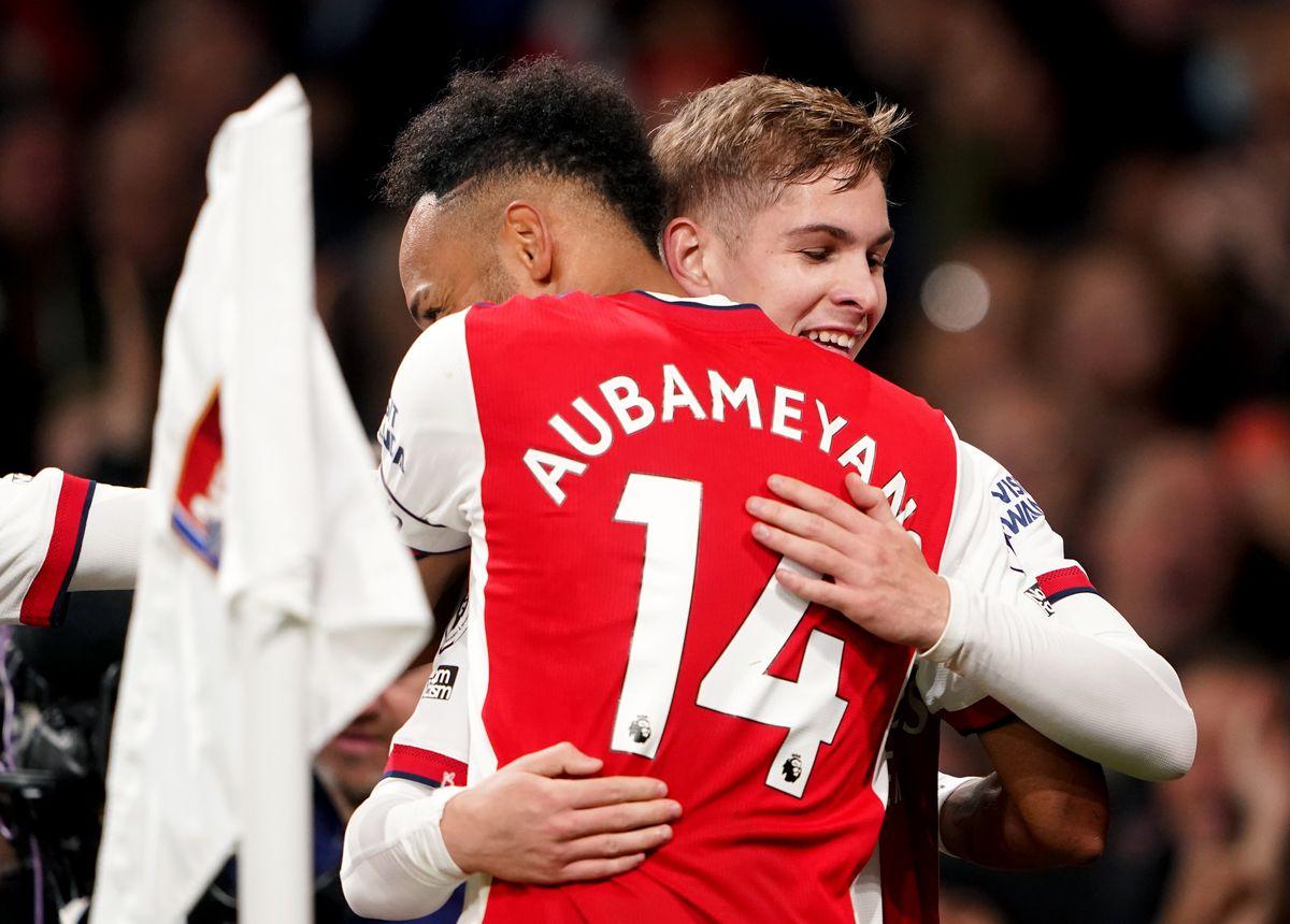 Arsenal hit top form to hammer sorry Aston Villa