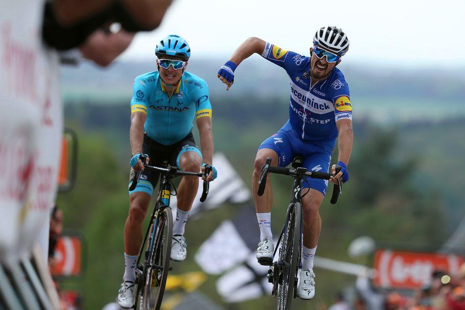 Unstoppable Julian Alaphilippe wins La Flèche Wallonne 2019
