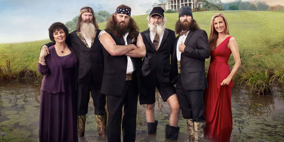 The Duck Dynasty family during the A&E years
