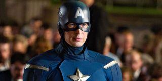 Chris Evans as Captain America Marvel