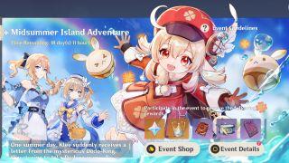 Genshin Impact Midsummer Island Adventure event