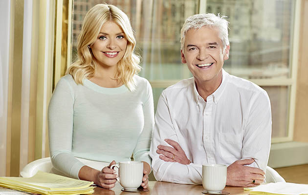This Morning presenters Phil and Holly