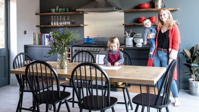 Sophie and George Pound transformed a neglected barn in east Kent into a family home, creating a country lifestyle Enid Blyton could have written about