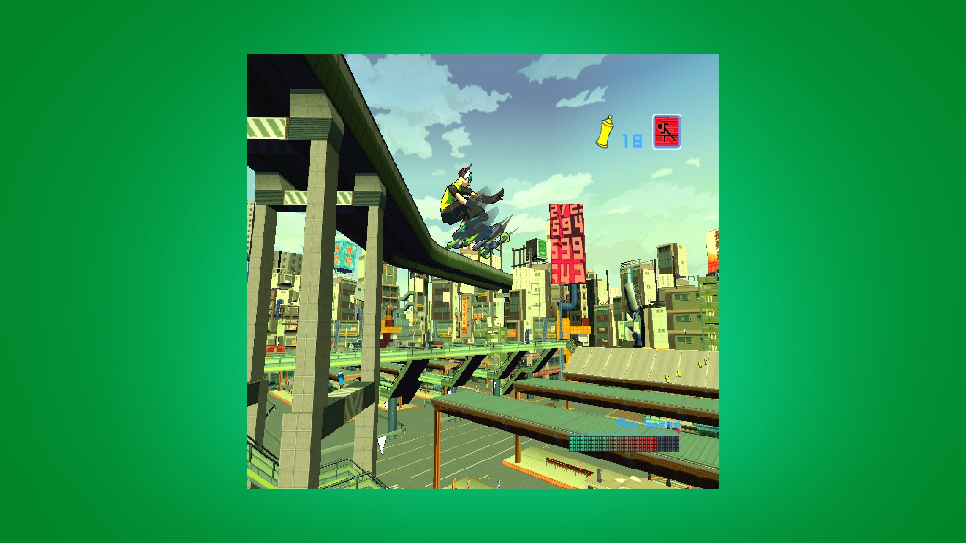 Jet Set Radio Future gameplay